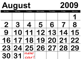 August, it's a funny old month