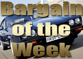 Bargain of the Week - Ford Capri 2.8 Special