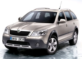 Skoda Octavia Scout, it's no roomster!