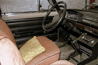 Lada bleak interior